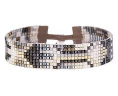 Oslo Handwoven Beaded Bracelet