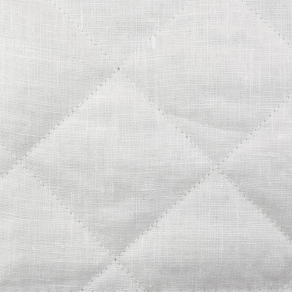 Quilted Linen Bedding