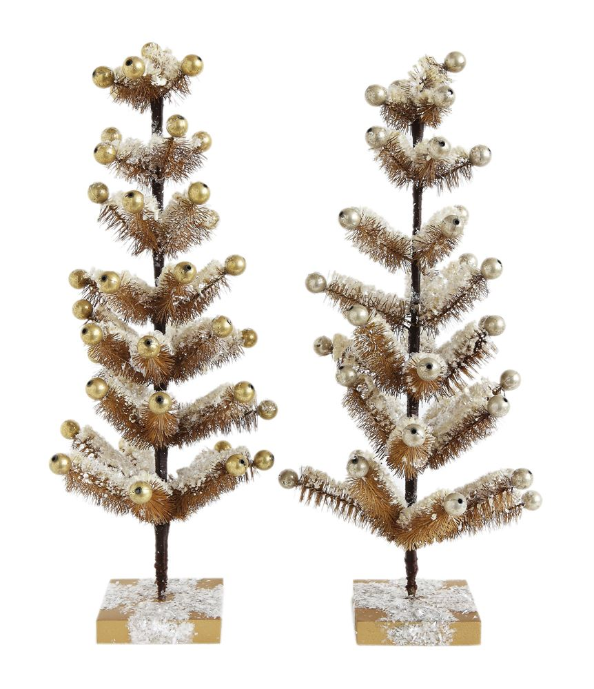 Faux Tree with Ornaments