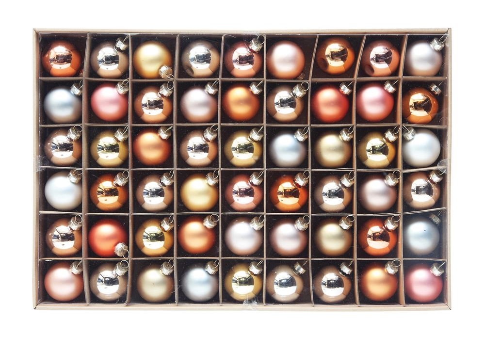 Boxed Set of 54 Ornaments