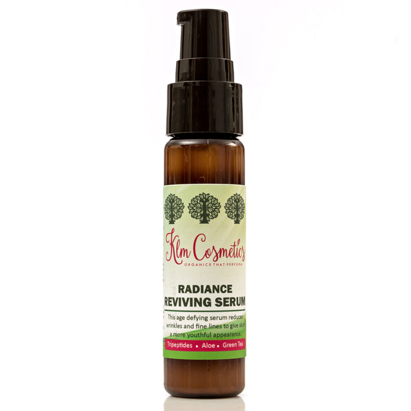 Radiance Reviving Serum  - anti aging serum reduces pores and smooths fine lines and wrinkles - KLM Cosmetics - 1