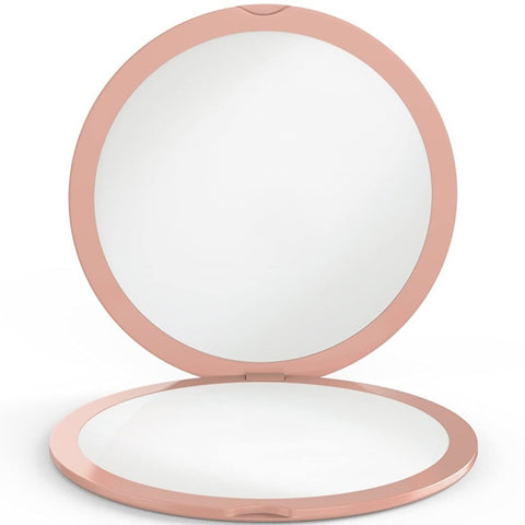 ClassZ Compact Mirror - Rose Gold Edition 10X and 1X