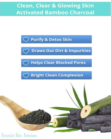 Charcoal Peel Off Mask - Exfoliating Blackhead Remover