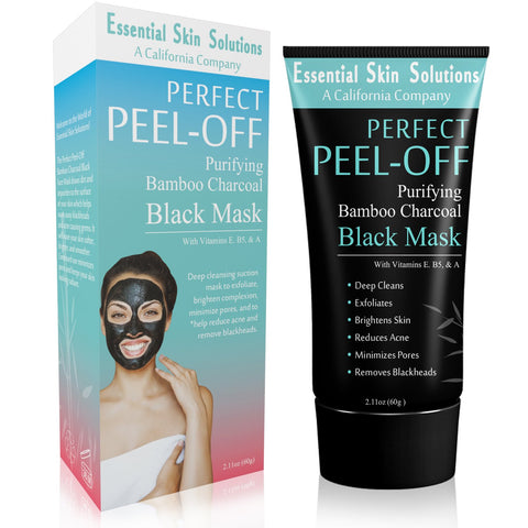 Charcoal Peel Off Mask - Exfoliating Blackhead Remover Face Mask - Essential Skin Solutions