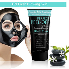 Charcoal Peel Off Mask - Exfoliating Blackhead Remover Face Mask