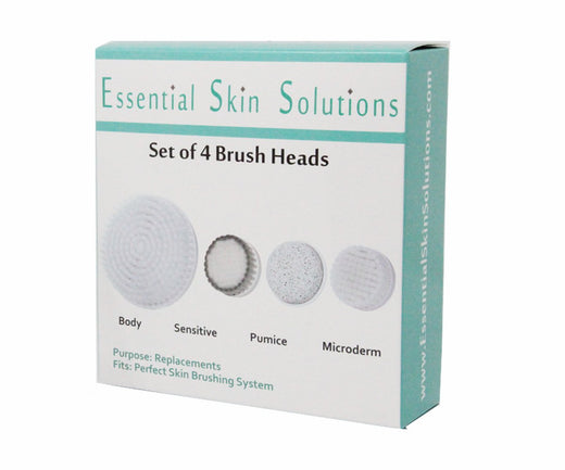Perfect Skin Brushing System - Set of 4 Replacement Heads