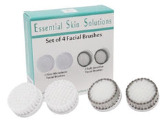 Essential Skin Solutions Set of 4 Face Brushes