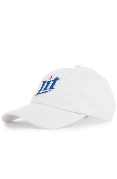 White Litty Cap - SeasonCaps  - Dad Cap