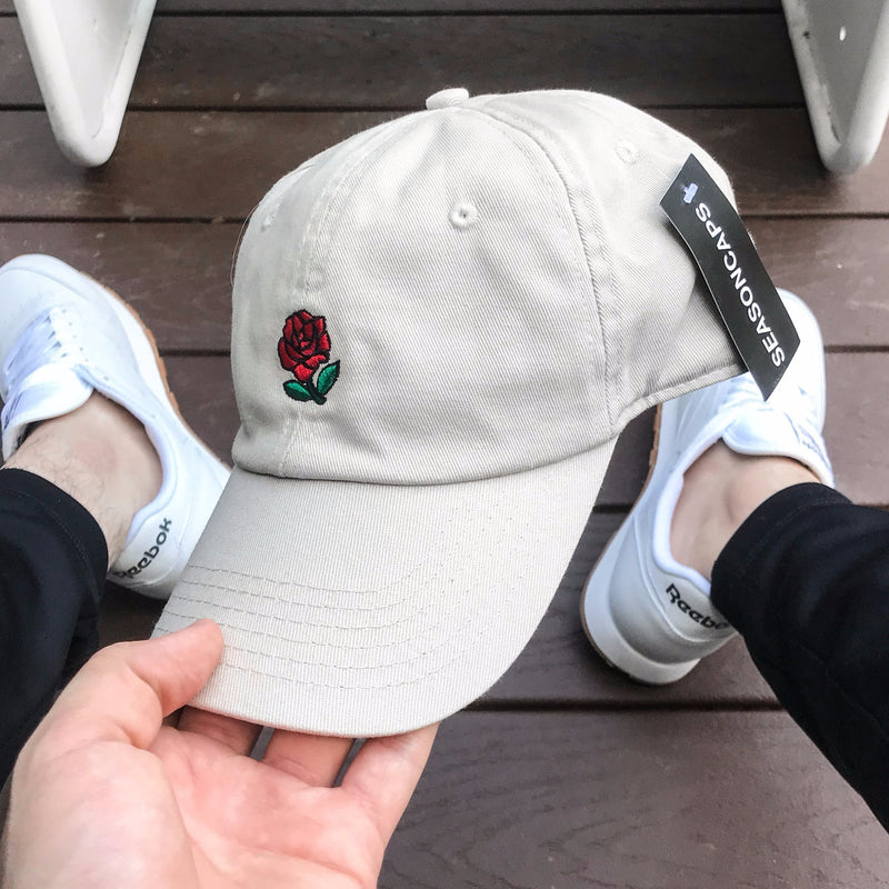 Rose Cap (Tan)
