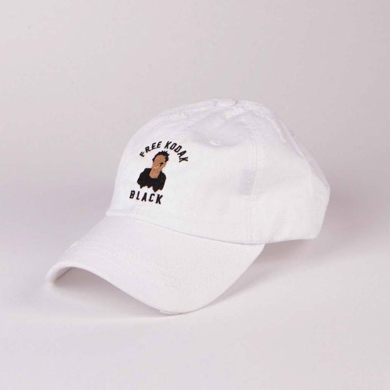 White Free Kodak pt.2 - SeasonCaps  - Dad Cap