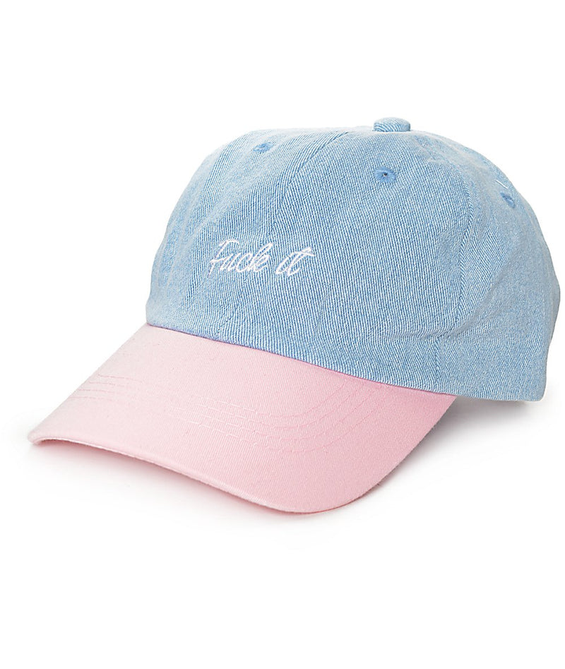 Fuck It - Two Tone - SeasonCaps  - Dad Cap