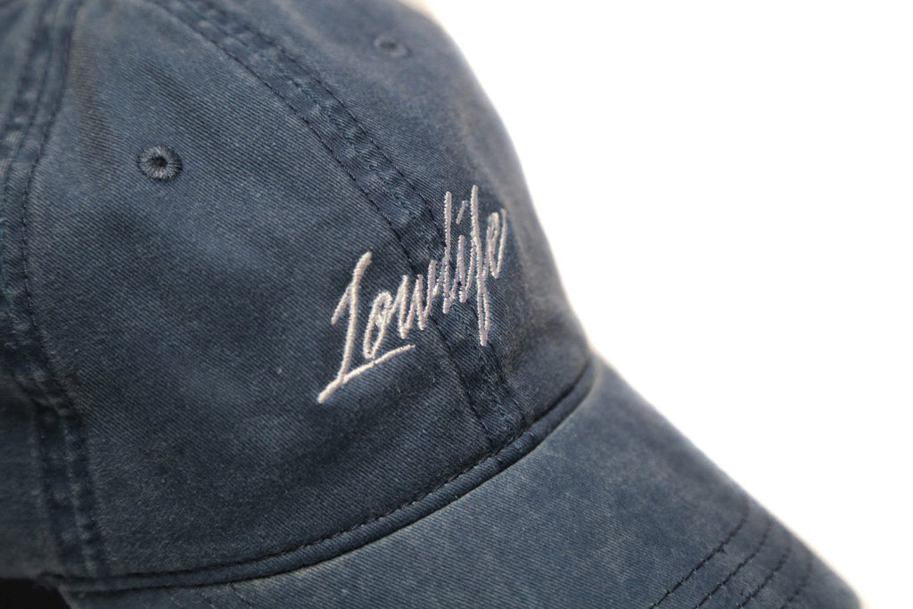 Navy Lowlife Cap - SeasonCaps  - Dad Cap