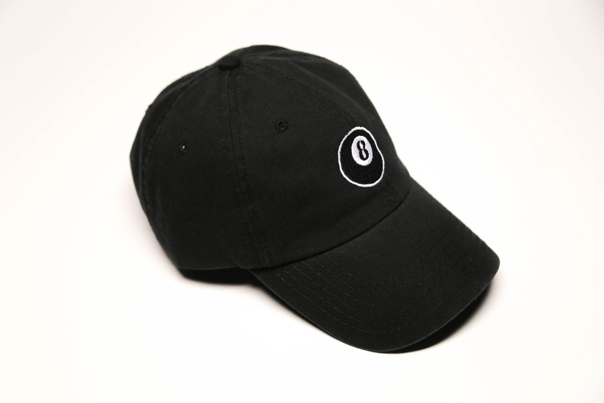 Black 8 Ball Cap - SeasonCaps  - Dad Cap