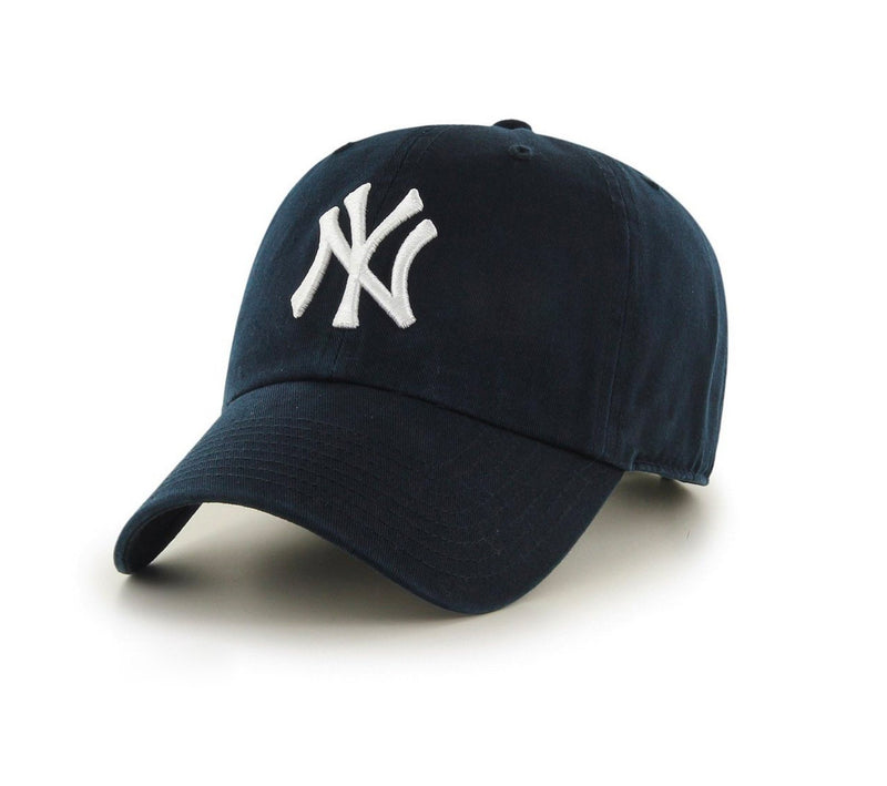 Navy Classic New York Ball Cap (LIMITED) (Unconstructed)
