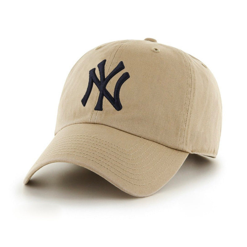 Classic Tan New York Cap (LIMITED) (Unconstructed) - SeasonCaps  - Dad Cap