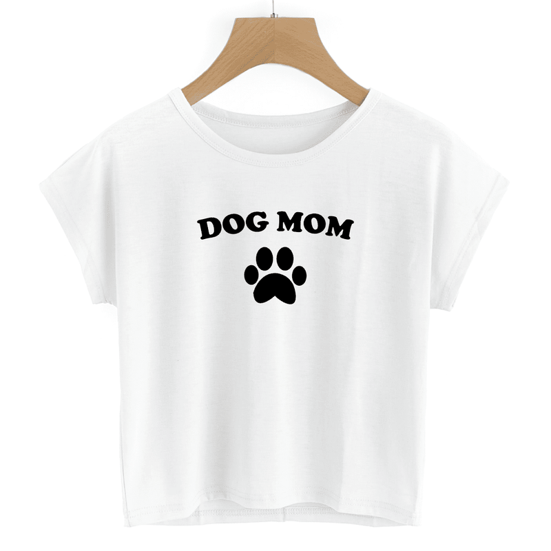 Dog Mom - Crop Top