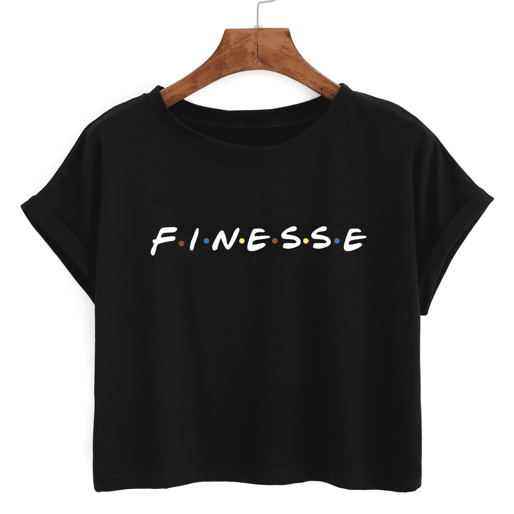 Finesse - Crop Tee