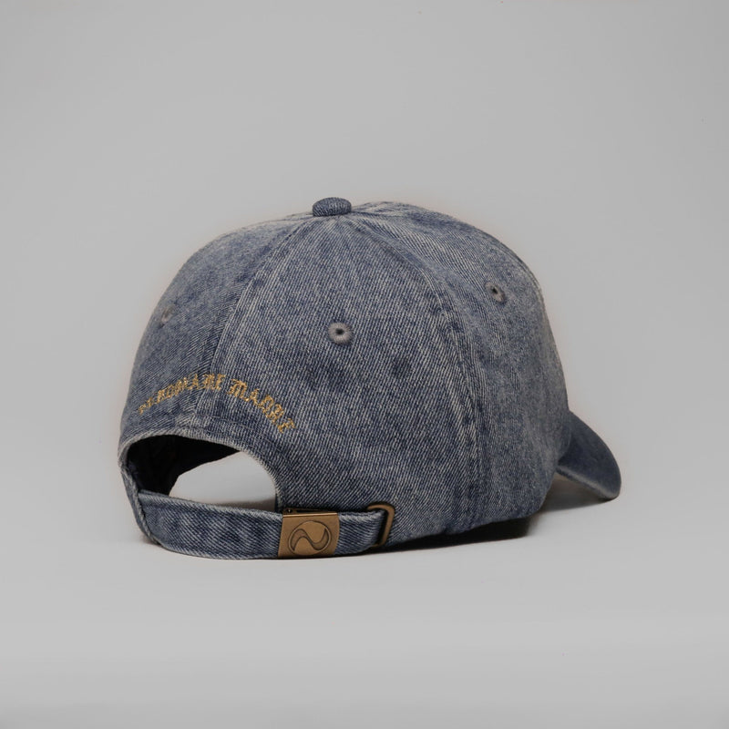 Forgive Me Mother (Denim) - SeasonCaps  - Dad Cap