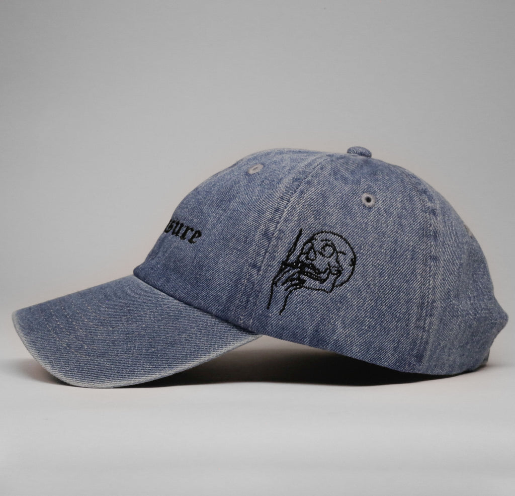 Pleasure Cap (Denim) - SeasonCaps  - Dad Cap