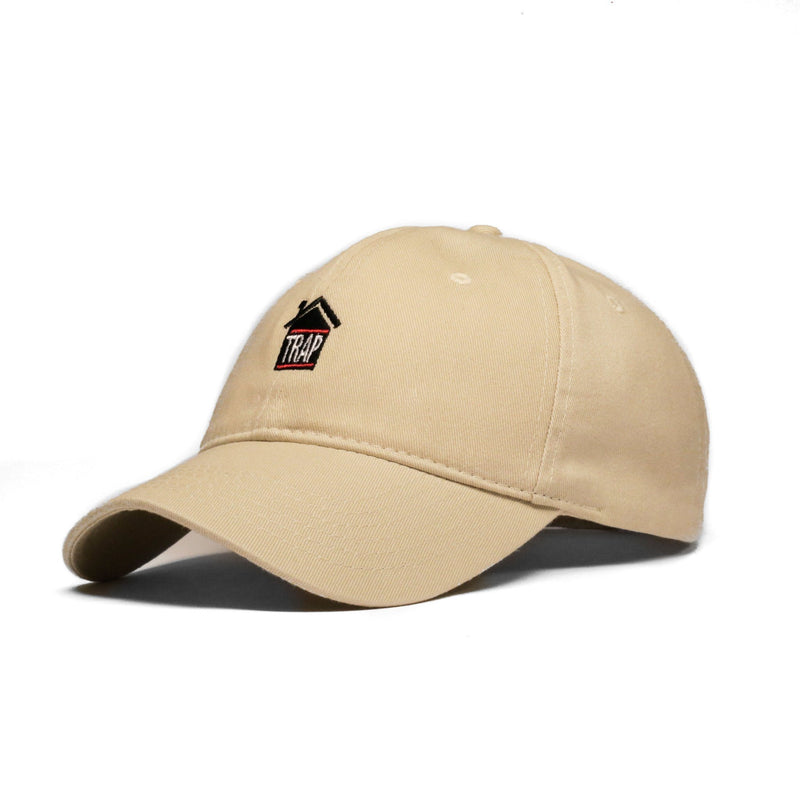 Trap House (Tan) - SeasonCaps  - Dad Cap