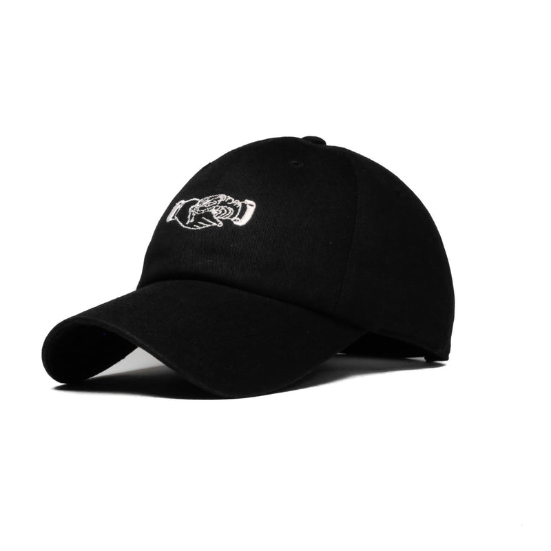 Fake Friends (Black) - SeasonCaps  - Dad Cap