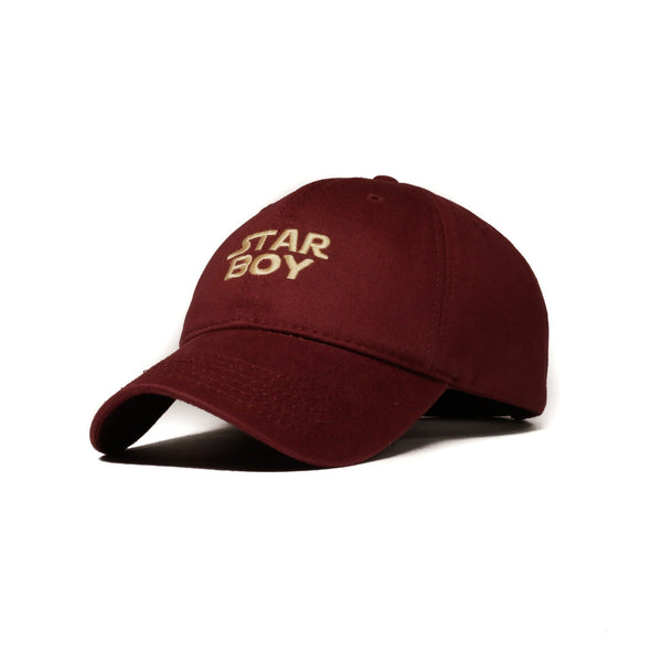 Maroon Starboy Cap (Limited Edition) - SeasonCaps  - Dad Cap