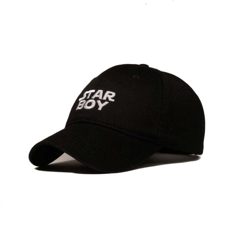 Starboy (Black) - SeasonCaps  - Dad Cap