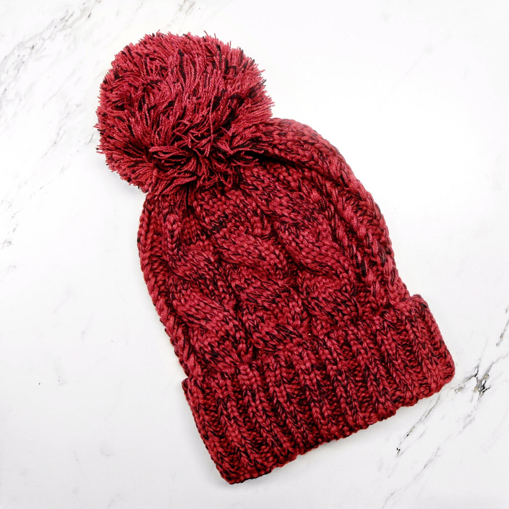 Red Season Beanie - SeasonCaps  - Dad Cap