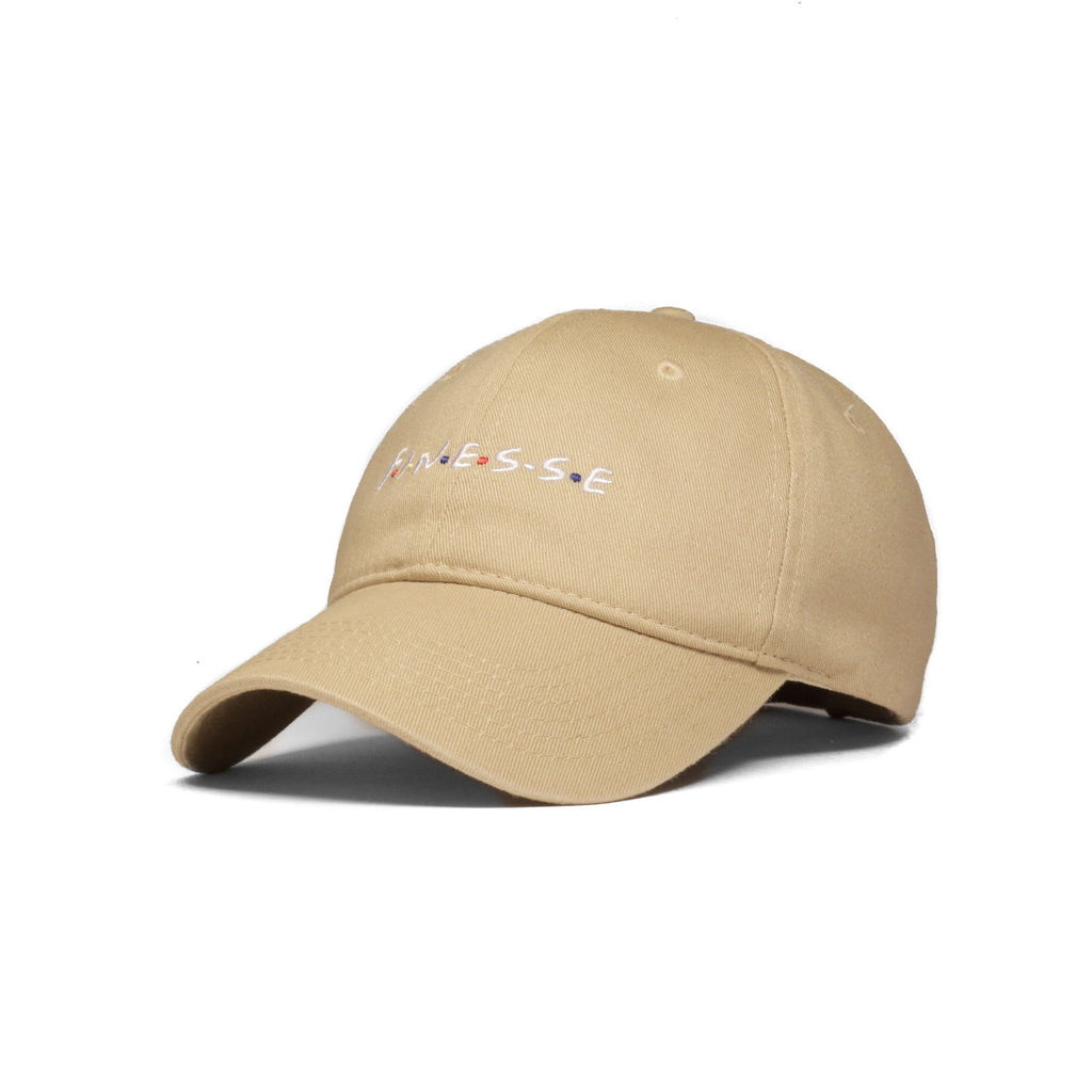Finesse Baseball Cap (Tan) - SeasonCaps  - Dad Cap