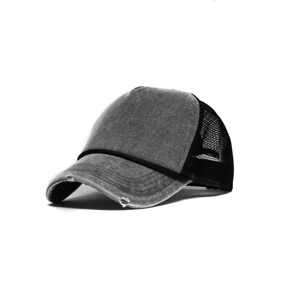 Grey SeasonCaps Trucker Cap (Limited) (Unconstructed)