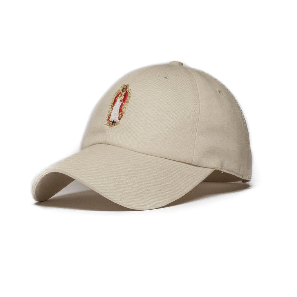 Tan Forgive Me Mother Cap