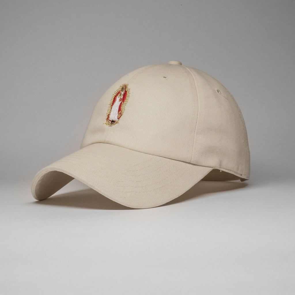 Tan Forgive Me Mother Cap (Unconstructed)