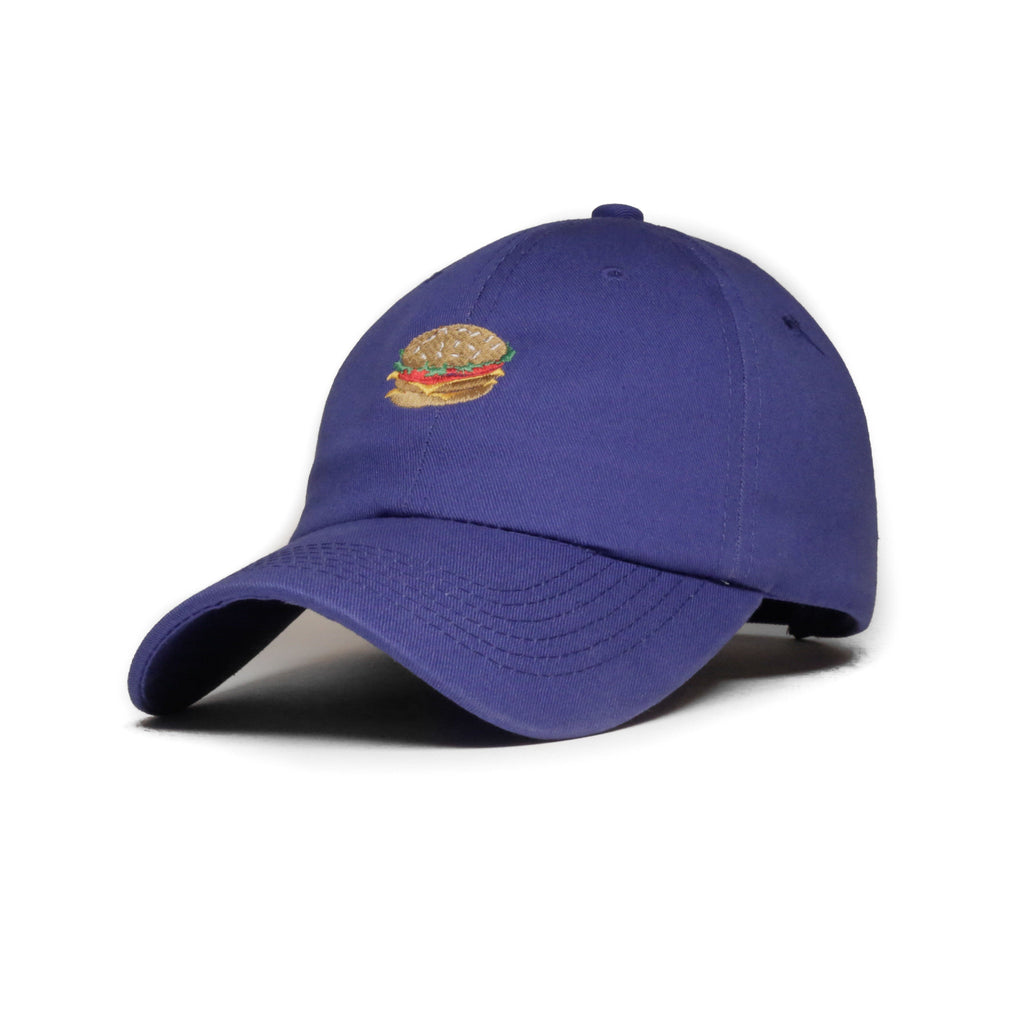 Royal Blue Burger Cap
