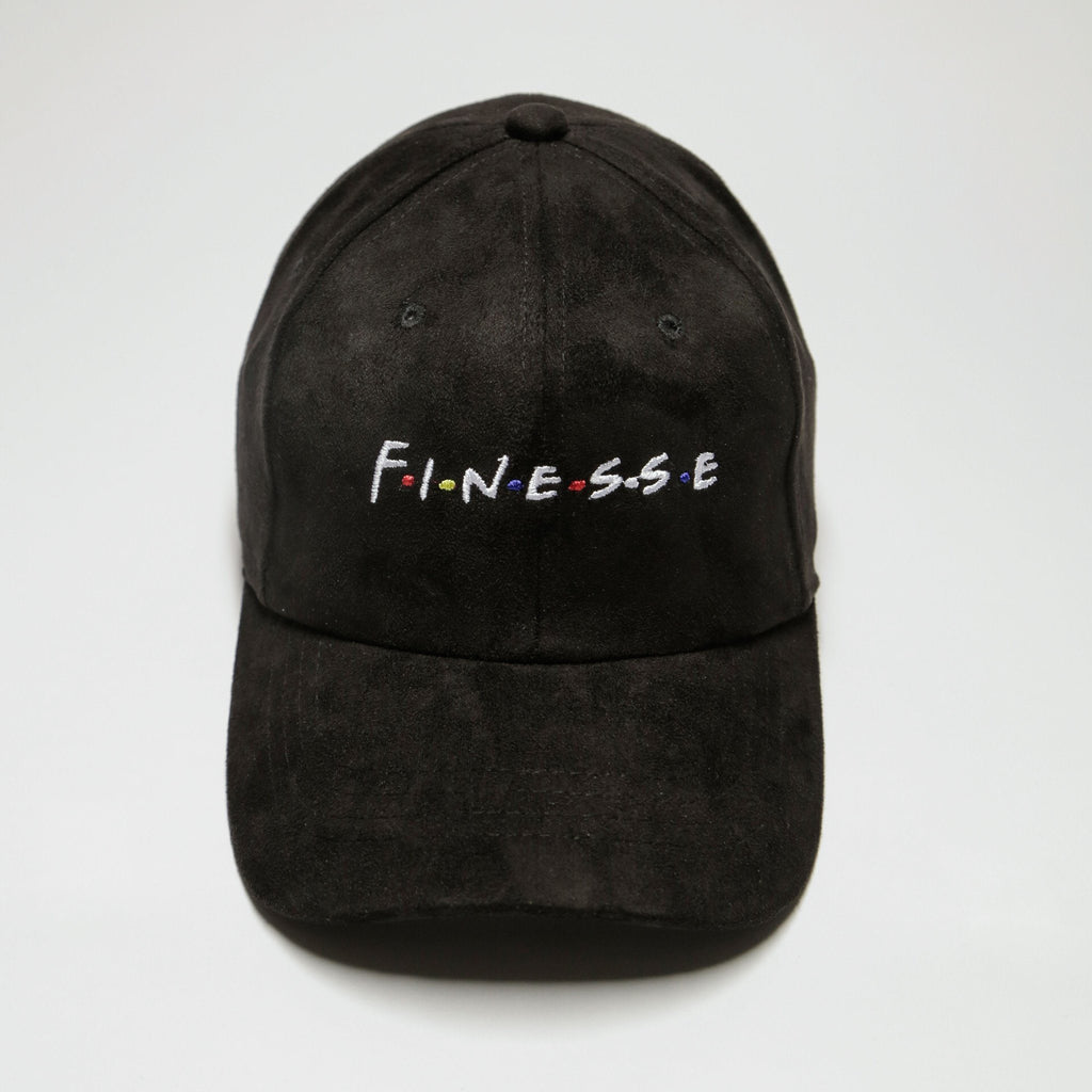 Black Suede Finesse (Limited Edition) Only 150 Made!! - SeasonCaps  - Dad Cap