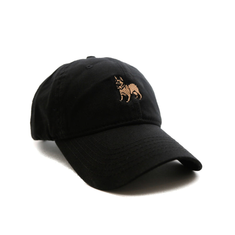 Frenchie (Black) - SeasonCaps  - Dad Cap