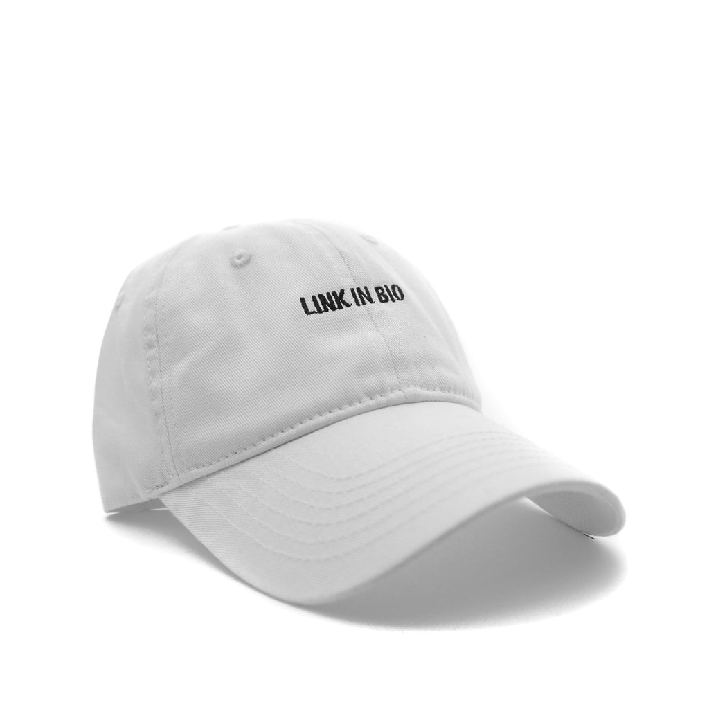 Link in bio (White) - SeasonCaps  - Dad Cap