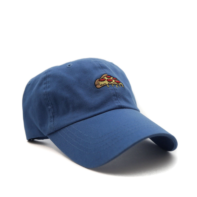 Pizza Cap (Royal Blue) - SeasonCaps  - Dad Cap