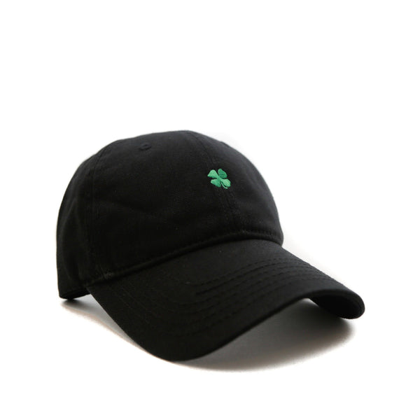 Lucky (Black) - SeasonCaps  - Dad Cap