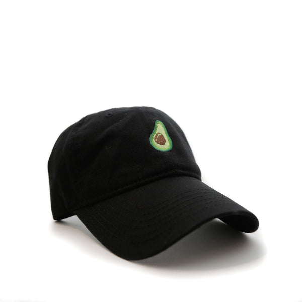 Avocado (Black) - SeasonCaps  - Dad Cap