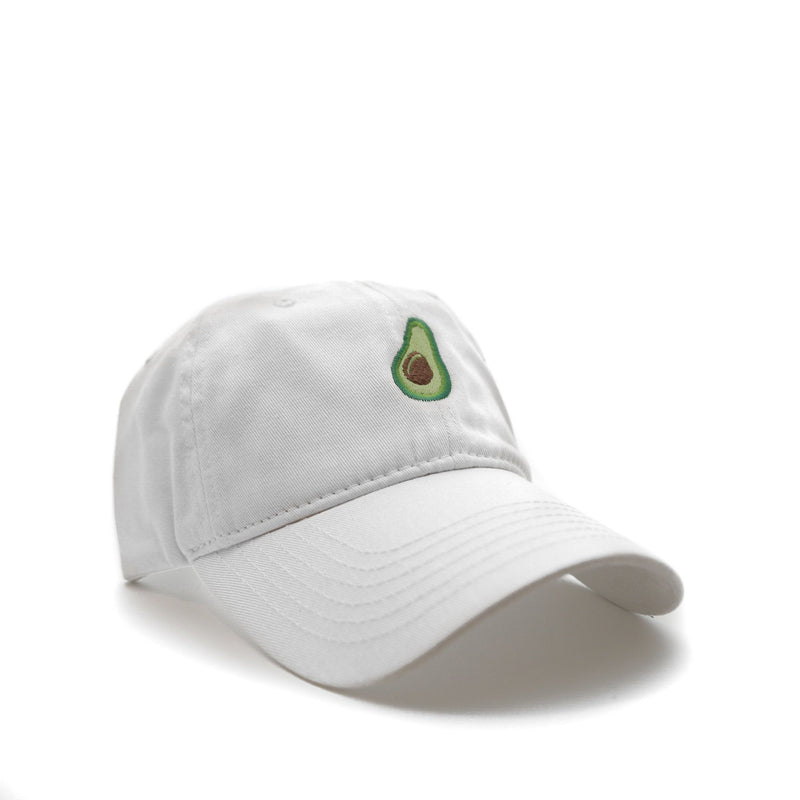 Avocado (White) - SeasonCaps  - Dad Cap