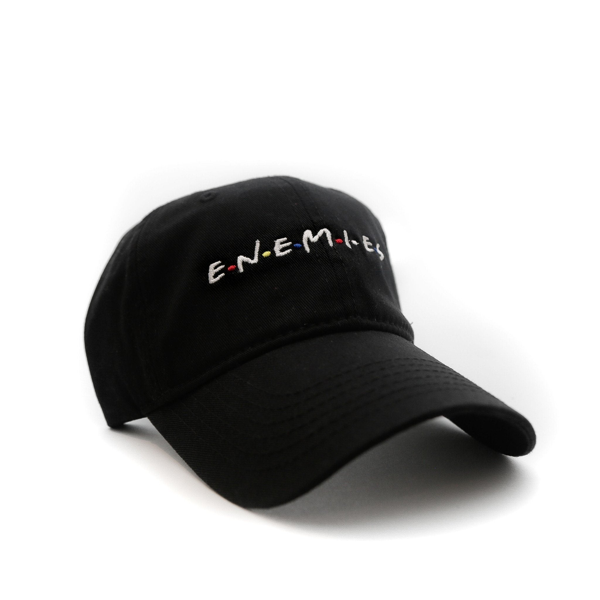 Enemies (Black) - SeasonCaps  - Dad Cap