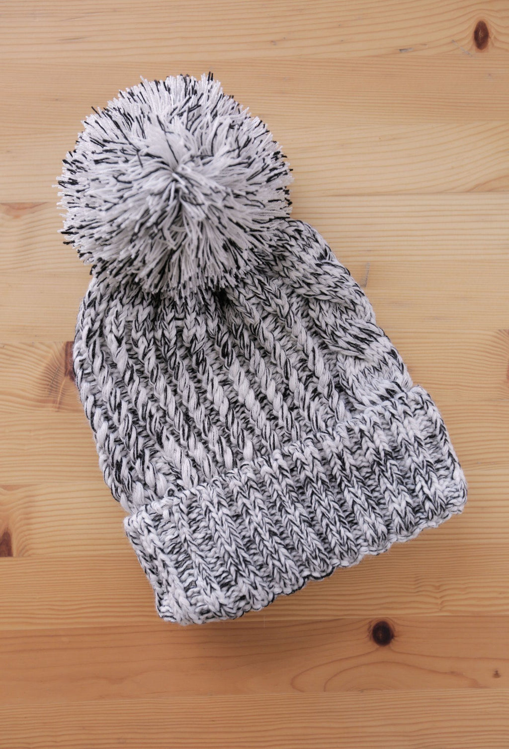 Black & White Mesh Season Beanie - SeasonCaps  - Dad Cap