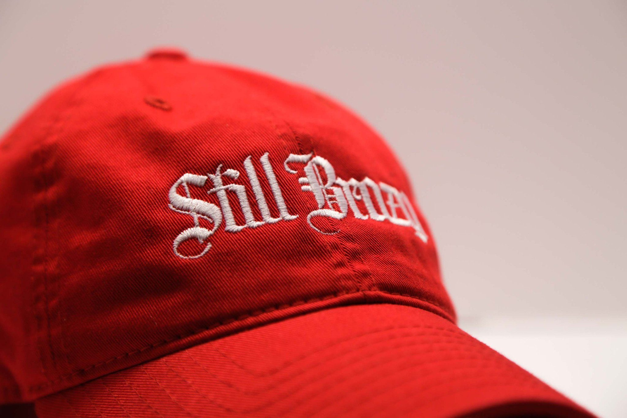 Red Still Brazy Polo - SeasonCaps  - Dad Cap