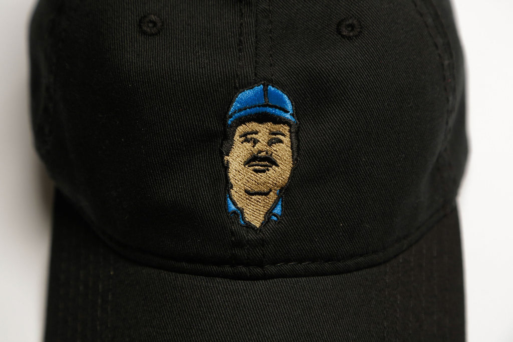 Black Chapo Cap - SeasonCaps  - Dad Cap