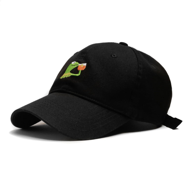 "BLK ""None Of My Business"" Cap (LIMITED) - SeasonCaps  - Dad Cap"