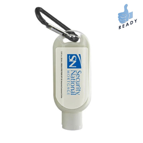 1.9 Oz. SPF 30 Sunscreen Lotion w/ Carabiner