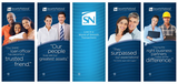 "Retractable Banner Kit - 5 banners 33"" x 80"""