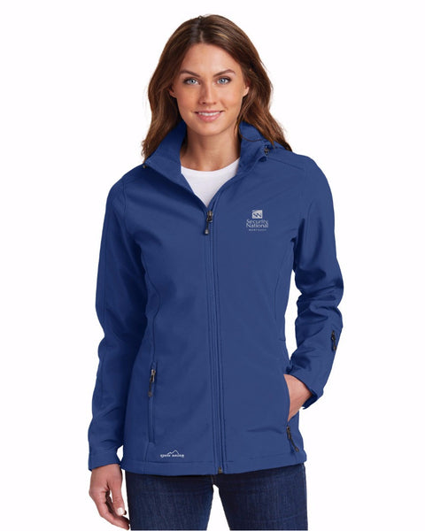 Ladies' Eddie Bauer Hooded Soft Shell Parka