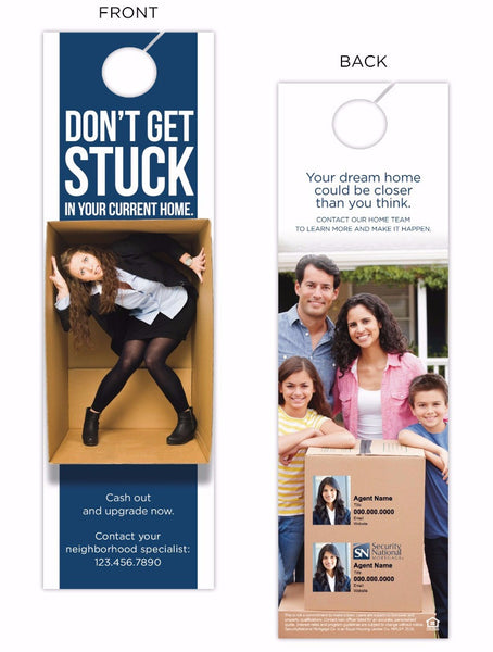 """Trapped"" Large Door Hanger"