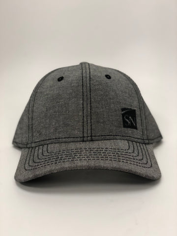 Black Heather Baseball Cap